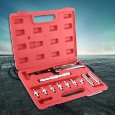 11Pcs Valve Seals Remover Installer Kit Plier Driving Socket Handle Adapters Set