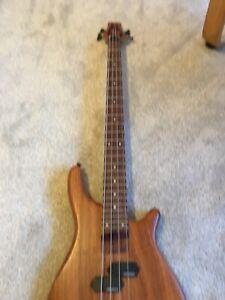 Vintage V940 Bubinga 4 String Active Bass