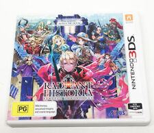 *Radiant Historia Nintendo 3DS Game PAL  RARE Hard to Find*