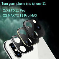 Camera Cover Lens Sticker for iPhone X XS MAX Seconds Change to iPhone11 Pro MAX