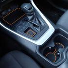 For Toyota RAV4 2019-2021 Liner Accessories Cupholder Console Door Pocket Insert