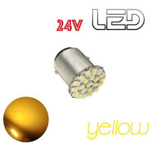 1 Ampoule P21W BA15s 22 LED JAUNE Camion SCANIA IVECO MAN RENAULT VOLVO Truck