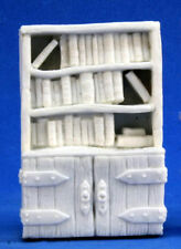 1 x BIBLIOTHEQUE - BONES REAPER figurine miniature mobilier furniture bookshelf