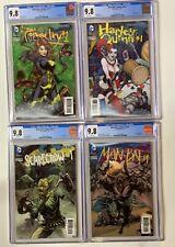 Detective Comics 23.1 23.2 23.3 23.4 cgc 9.8 wp complete set 3d lenticular