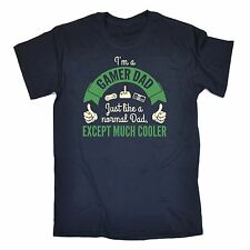 Im A Gamer Dad Except Much Cooler T-SHIRT geek funny fathers gift father day