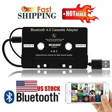 3.5mm Aux Car Audio Cassette Tape Adapter Transmitters For iPhone Mp3 Cd Player