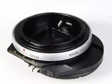Kipon Adapter Shift Canon FD Lens to Sony NEX E NEX-7/6/5 a7 a7r NEX-VG10E
