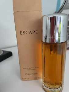 New In Box Calvin Klein Escape Perfume 100ml Bottle