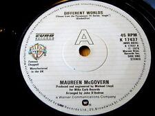 """MAUREEN McGOVERN - DIFFERENT WORLDS  7"""" VINYL"""