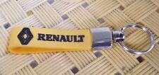 RENAULT Keyring Silicone Key Chain Keyfob KeyHolder Chrome 3D