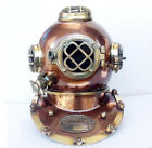 Vintage Antique Brass And Iron mark V Diving Divers Helmet Full Size Replica