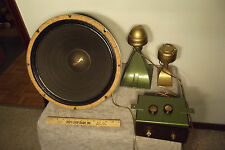 1950's University Acoustic Baton Speakers - Removed & Sound Great!