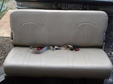 Ford Expedition Navigator Rd Row Seat Edbauer Tan Oem