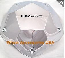 KMC 674 398L212 Center Cap fits all Clone Chrome Wheels New (1)