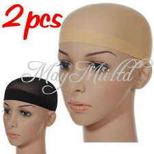 Hot Sale 2pcs Unisex Wig Snood Liner Cap Nylon Stretch Mesh Stocking  CA