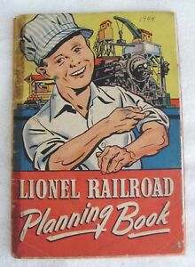 Vintage Original 1944 LIONEL RAILROAD PLANNING BOOK (40 Pages) - Very Fragile