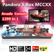 2018 Newest Pandora Box 5S 1299 in 1 Video Games Arcade Console Gamepad HDMI VGA