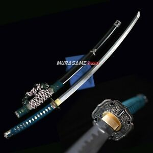 Tachi Sword Real Folded Steel Handmade Very Sharp  Battle Ready MURASAME