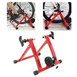 Foldable Bike Magnetic Turbo Trainer Exercise Fitness Training Stand Indoor