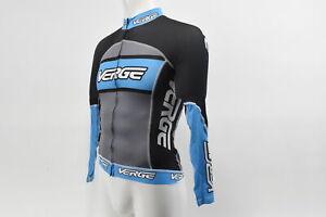 Verge Men's XS Primo Power Long Sleeve Lightweight Race Cycling Jersey