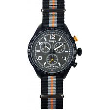 Orologio TIMEX mod. KALEIDOSCOPE ref T2P043CB Uomo chrono tela tricolore INDIGLO