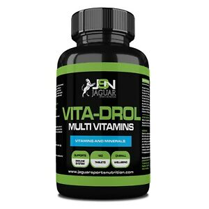 VITA-DROL- 120 TABLETS - MULTI VITAMINS AND MINERALS COMPLEX FOR MEN AND WOMEN