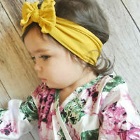 Toddler Baby Headband Headdress Kids Girl Bow Knot Hair Accessories Turban HOT