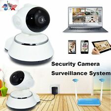 Wireless 720P Pan Tilt Home Security Camera Night Vision WiFi Webcam Detection