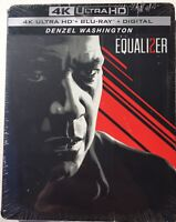 The Equalizer 2 (4K Ultra HD, Bluray) BRAND NEW Sealed EXCLUSIVE STEELBOOK