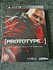 Prototype 2 Blackwatch Collector Edition Ps3/PlayStation 3 Juego Nuevo y Sellado fuera de imprenta