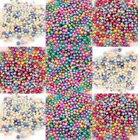 500pcs Easter Egg 3 Color Option Mix Czech Glass Pearl Round Beads 4mm Grade AAA