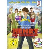 HENRY DER SCHRECKLICHE 3D/2D (ANJELICA HUSTON/RICHARD E.GRANT/+)  2 DVD  NEU