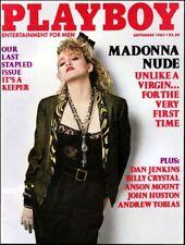 1980s Madonna Playboy Magazine cover replica fridge magnet - new!