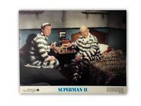 """SUPERMAN II"" ORIGINAL 11X14 AUTHENTIC LOBBY CARD POSTER PHOTO 1980"