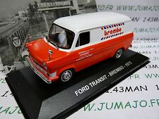 1/43 IXO Altaya Véhicules d'époque : FORD TRANSIT Brembo 1975