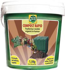 Attivatore accelleratore Compostiera compostaggio MondoVerde Compost Rapid Kg1,5