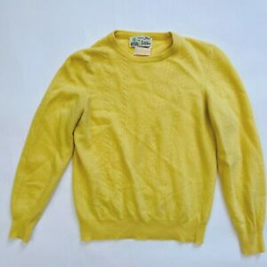 Vintage Hawico scotland 100% Cashmere Jumper sweater Size p Made in Hawick