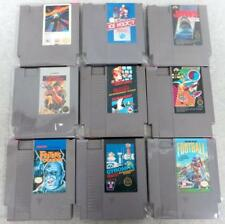 Lot of 9 NES Nintendo Games + Mario T&C Jaws Ice Hockey Festers Rush'n Attack +