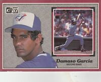 FREE SHIPPING-MINT-1983 Donruss #17 Damaso Garcia Toronto Blue Jays (3.5X5 CARD)