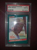 1986 Donruss Rookies Barry Bonds RC
