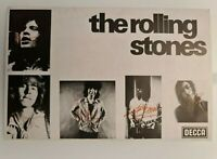 Rolling Stones ## signierte Autogrammkarte 1970 DECCA ## RARITÄT