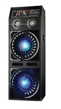 Disco Jam 2 Passive Speaker System, Flashing DJ Lights, Dual 10-Inch Woofers,