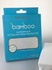 [3 Sets] KIDZ KISS Bamboo Waterproof Fitted Mattress Protector [Standard Cot]