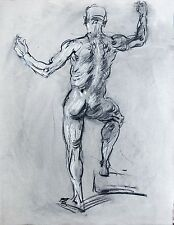 Keith Gunderson Male Nude Life Drawing
