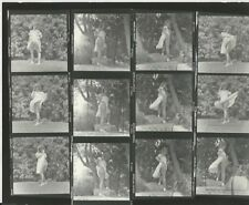 Hendrickson PHOTO Contact Sheet & Negatives Sexy Blonde Model Shades Sundress