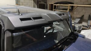 visor on the roof for hummer h3