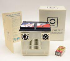 Vintage Dead Stock Delco Battery Advertising Transistor Radio