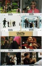CHARLIE ET LA CHOCOLATERIE - J.Depp,T.Burton - JEU DE 8 PHOTOS/8 FRENCH LC