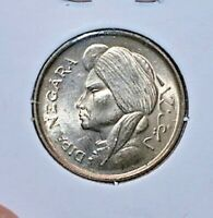 1952 INDONESIA 50 SEN CHOICE / GEM UNCIRCULATED CONDITION