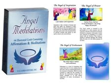 Angel Meditations 64 Illustrated Cards Deck Daily Inspiration by Cafe & Innecco